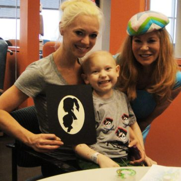 The Arts in Medicine Program at Texas Children's Hospital with the Holly Rose Ribbon Foundation