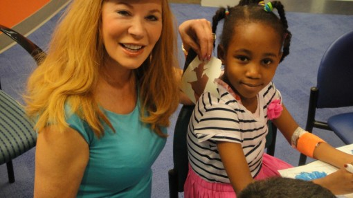 Fathers Day at Texas Childrens Hospital for The Arts in Medicine Program (4)