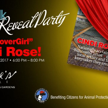 """PetTalk Magazine Cover Reveal Party – featuring """"CoverGirl"""" Cindi Rose!"""